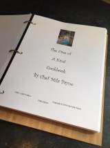 One of a Kind Cookbook