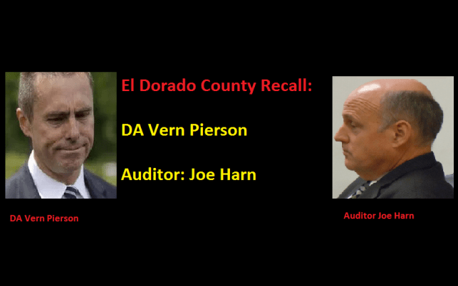 Recall petitions against both Joe Harn and Vern Pierson to start at the same time