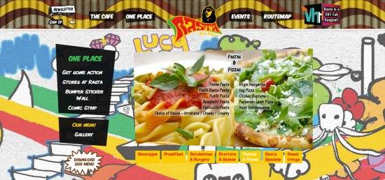Rasta Cafe menu