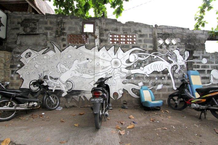 Graffiti in Bali
