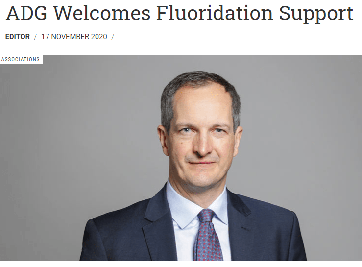 Dental Review: ADG welcomes Government support for water fluoridation