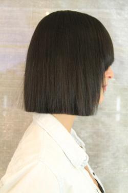 Modern Box Bob Haircut Neil George
