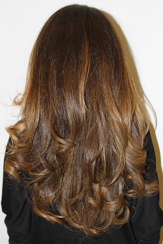 Beachy Brunette With Highlights Neil George
