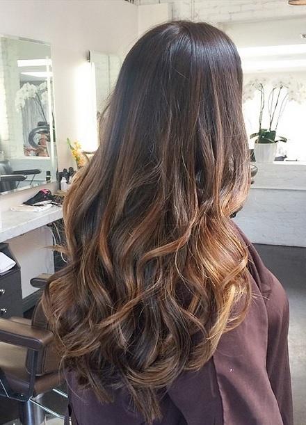 30 Long Brunette Highlights Hairstyles Hairstyles Ideas Walk