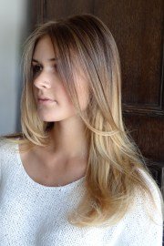 in- bronde hair color