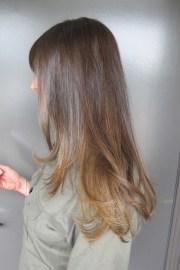 subtle brunette highlights neil