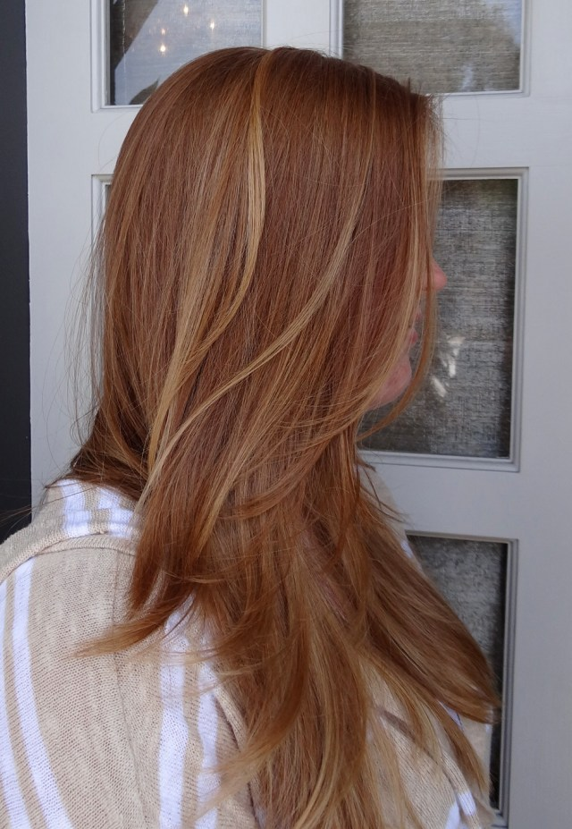 Strawberry Blonde With Highlights Neil George