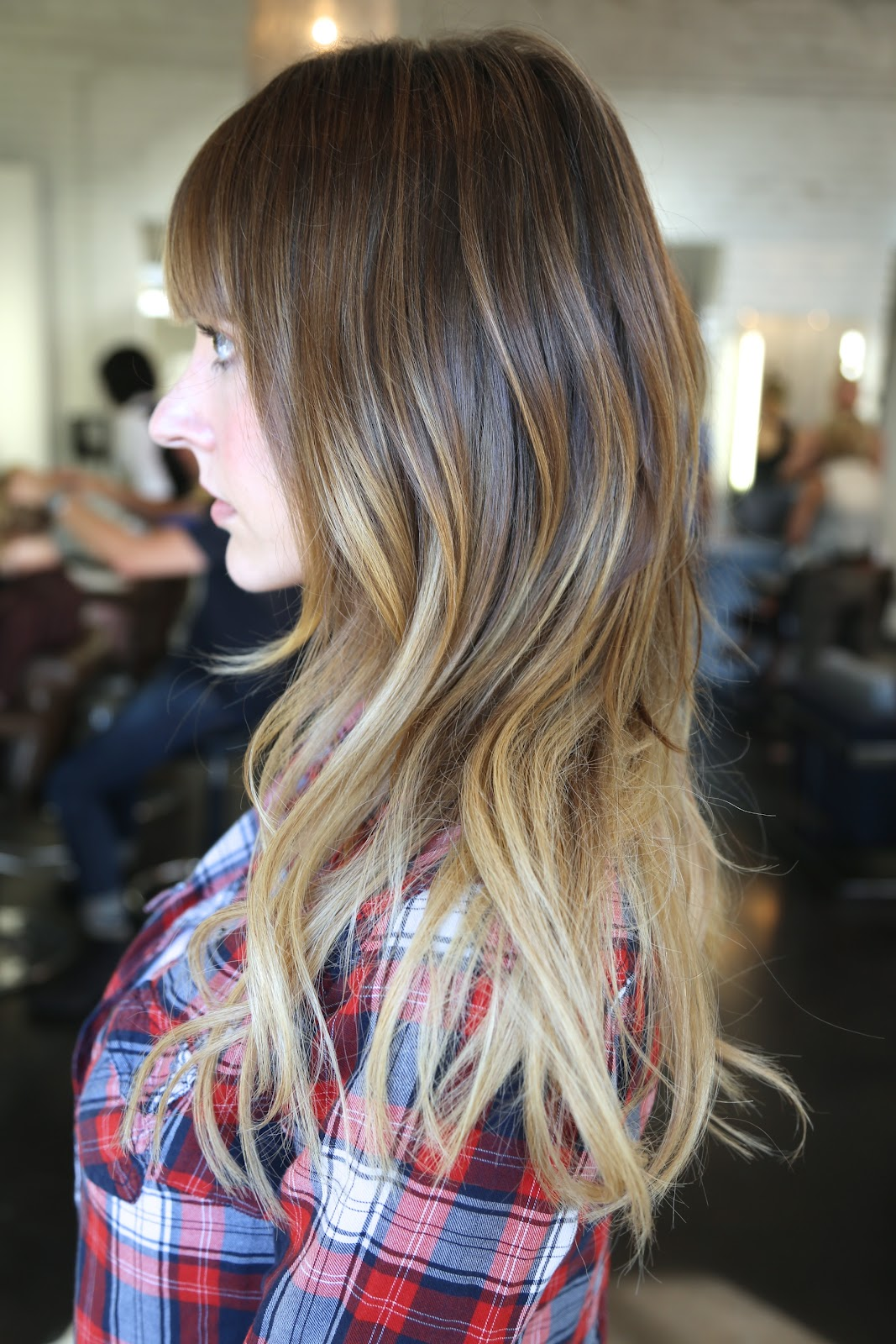 Before and After: Added Length and Ombre