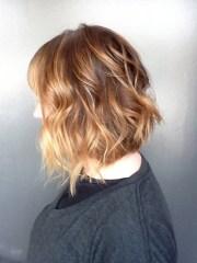 medium length hairstyles clavi cut lob - layered haircut hair