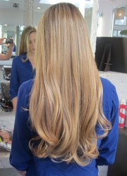 and long blonde
