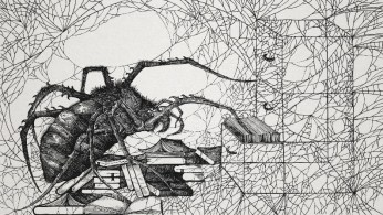 Is a spiderweb part of the animal's mind?