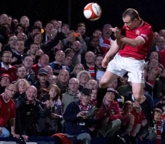 FC 1-0 Stourbridge. Winning goal scored by Greg Daniels (not my photo but I am in it!)