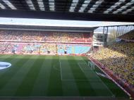 The FA ridiculously gave Watford more tickets than Utd, and more they had season ticket holders. The result was empty seats at the last ever Villa Park semi and loads of Reds having to watch on TV.
