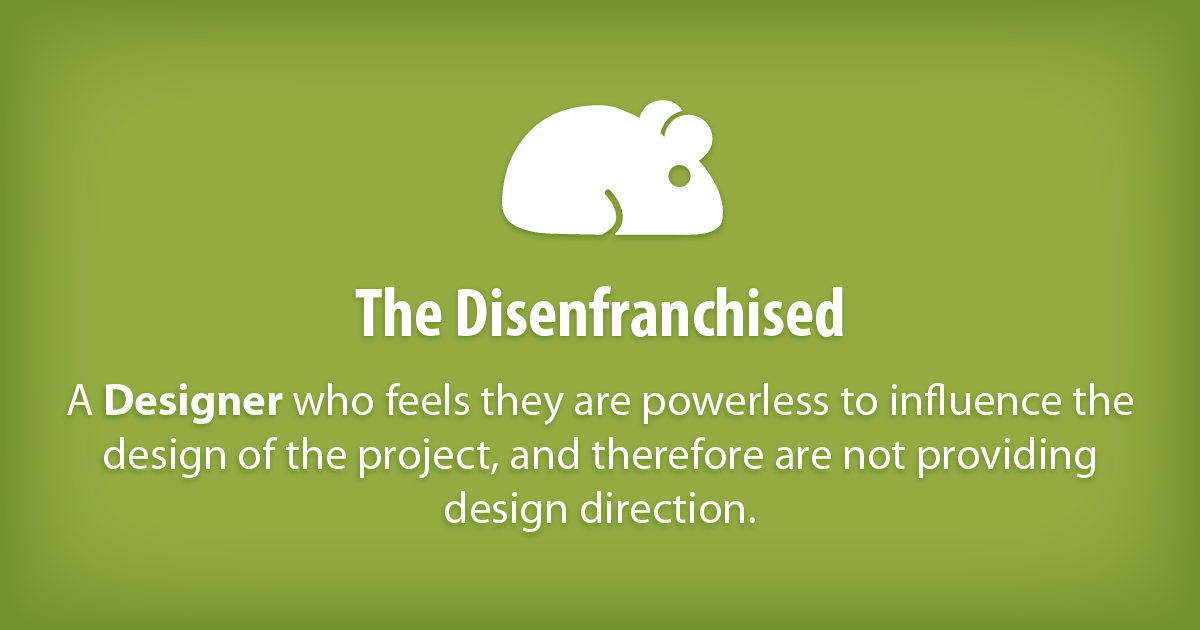 The Disenfranchised Neil On Software