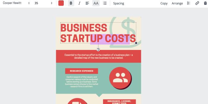 advanced SEO techniques  use canva to create infographics