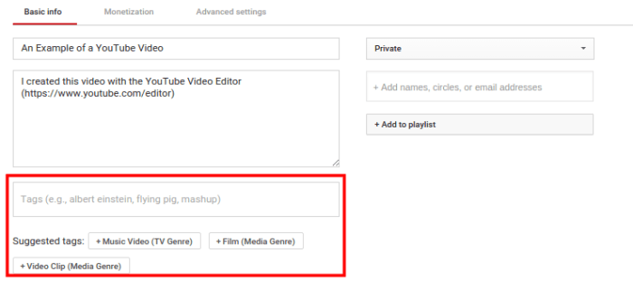 add youtube tags to increase youtube subscribers