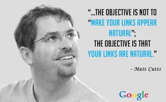improve google rankings - avoid google penalties quote, matt cutts