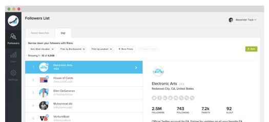 instagram analytics tool screenshot