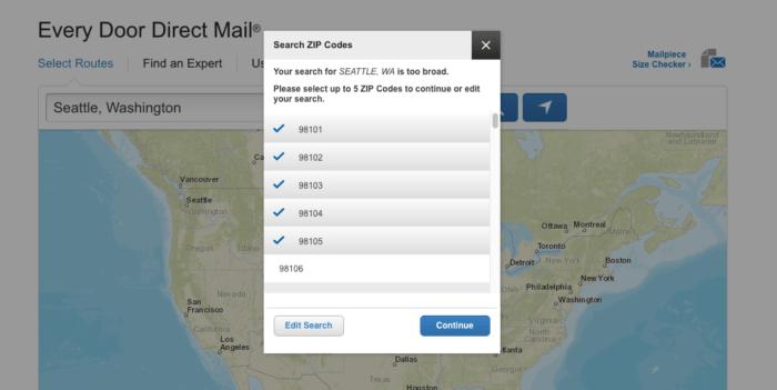 target direct mail USPS