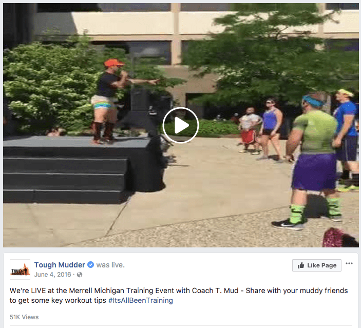 21 Tough Mudder We re LIVE at the Merrell Michigan Training Event