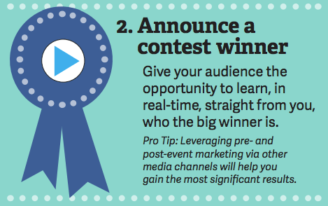 infographic 4 ways to leverage facebook live videos pdf