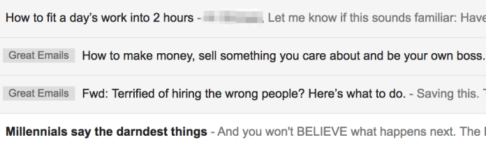 Great Subject Lines 1 mchlblankenship10 gmail com Gmail