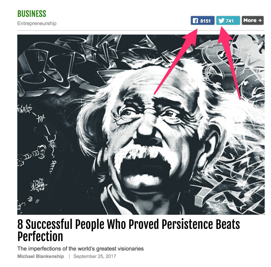 Infographic 8 Successful People Who Proved Persistence Beats Perfection SUCCESS