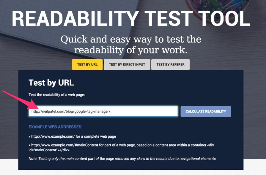 Readable Free Readability Test Tool