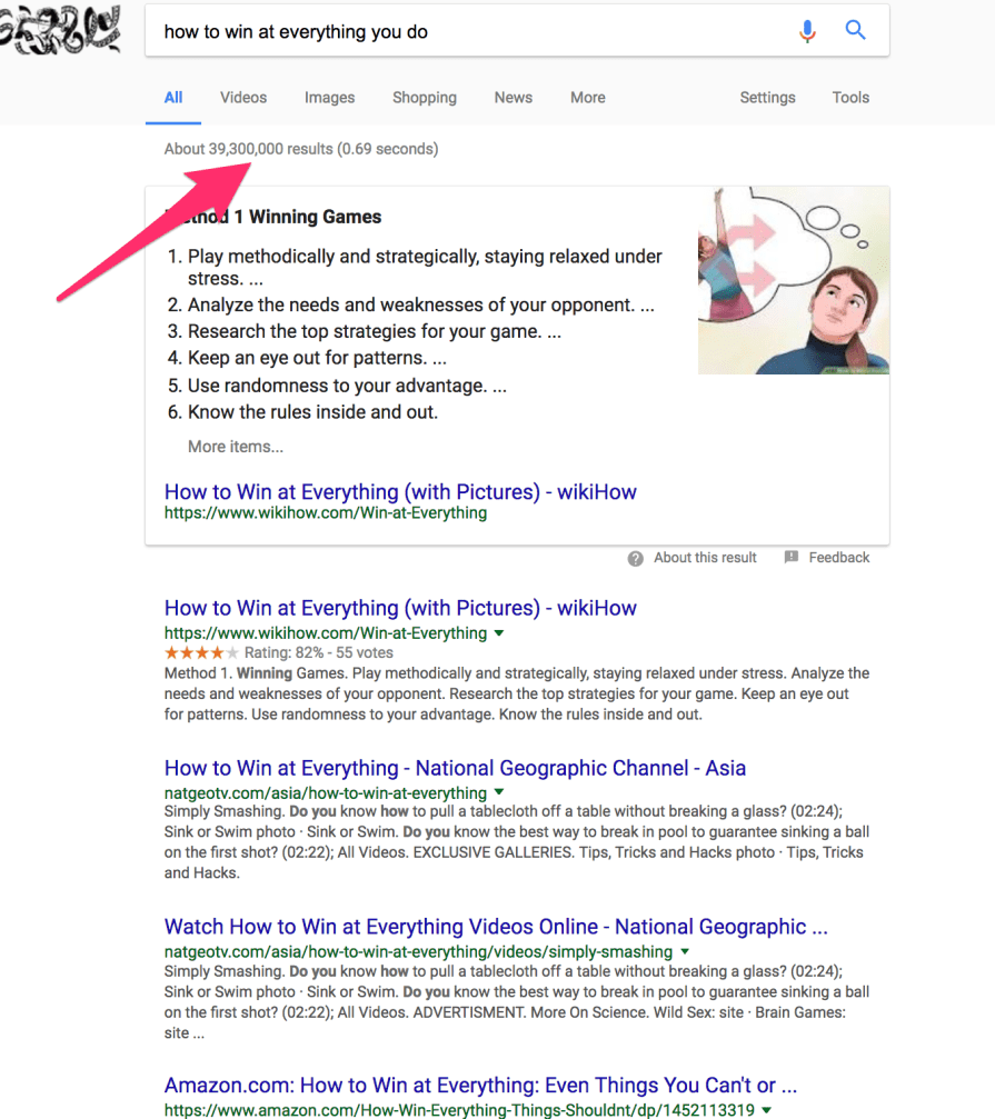 how to win at everything you do Google Search 1