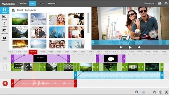 social media marketing wevideo example