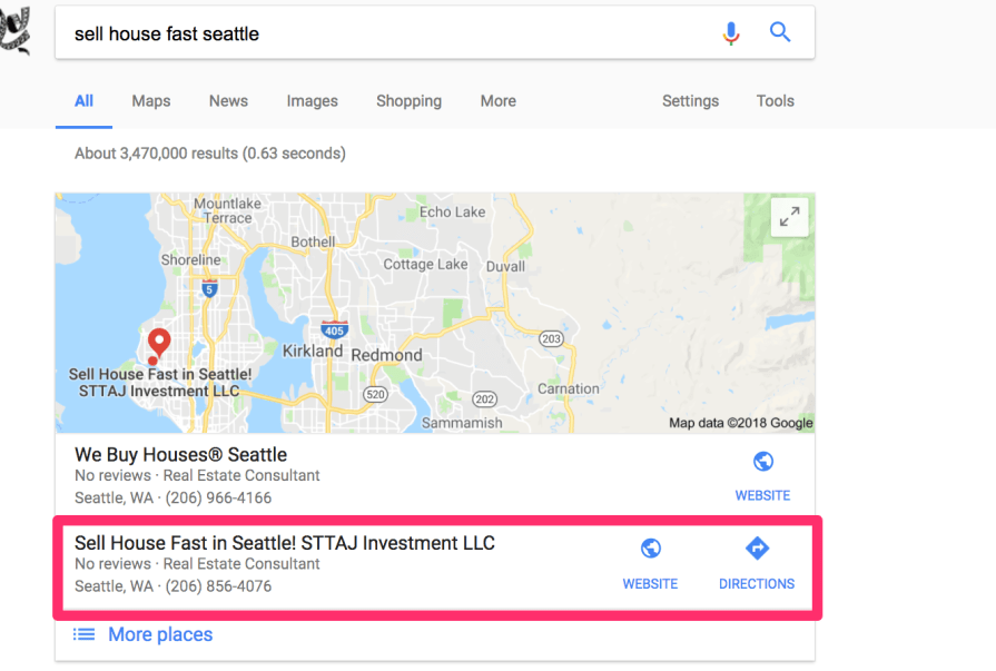 sell house fast seattle Google Search