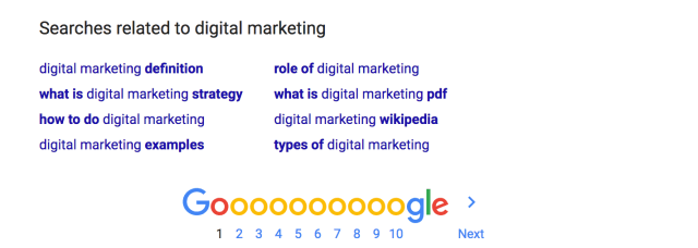 digital marketing Google Search 1