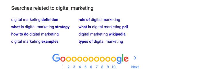 digital marketing Google Search 1