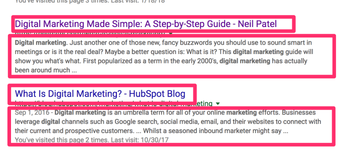 digital marketing Google Search 2