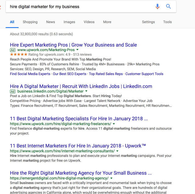 hire digital marketer for my business Google Search