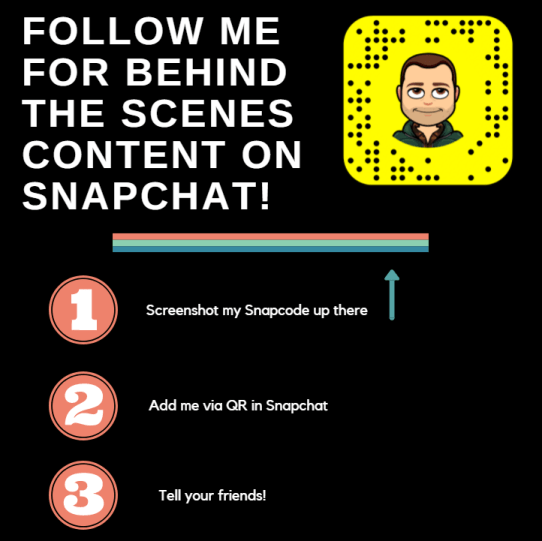 how to get snapchat friends social media post example.