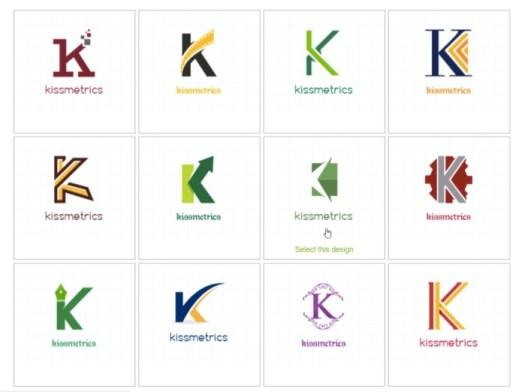 letter free brand logo example
