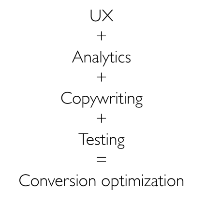 what equals conversion optimization