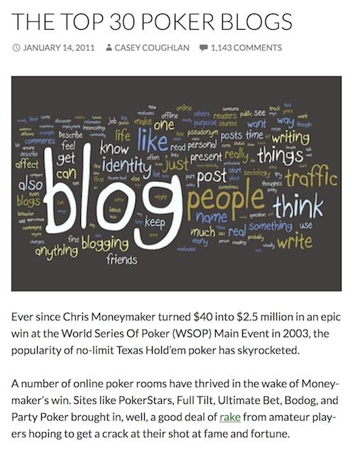 top 30 blogs