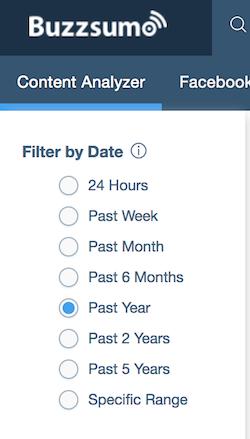 time filter
