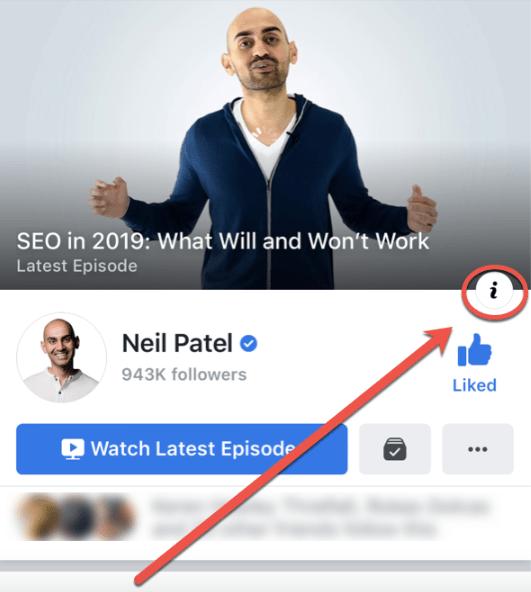 I to spy on competitors Neil Patel facebook hacks.