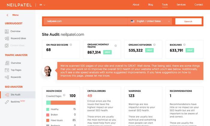 seo analyzer Free SEO tool