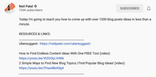 9 Ways to Improve Organic Reach via the YouTube Algorithm -- video description optimization