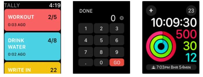 Apple Watch Apps Tally