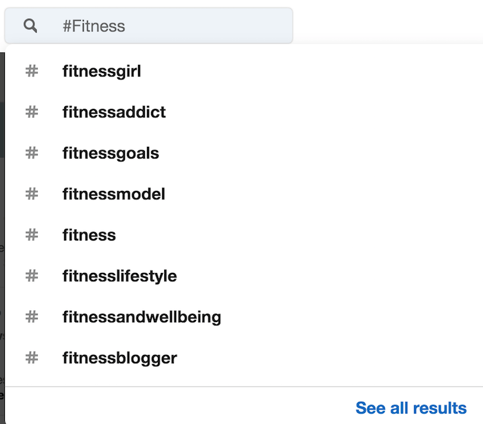 Linkedin Top Hasthags LinkedIn recommendations for hashtags about fitness
