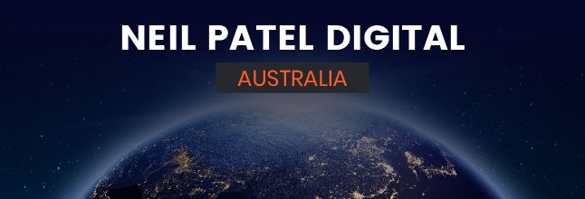 Neil Patel Digital Australia