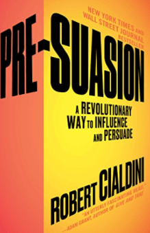 best marketing books - pre-suasion