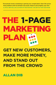 best marketing books - the 1-page marketing plan
