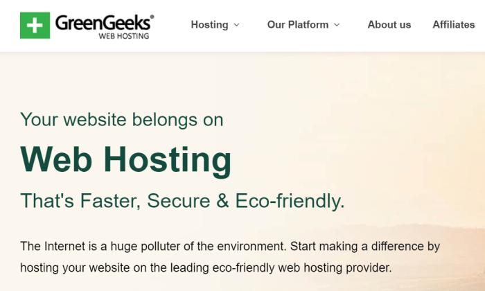 GreenGeeks splash for Best VPS Hosting