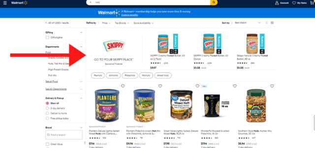 Walmart advertising - brand amplifiers